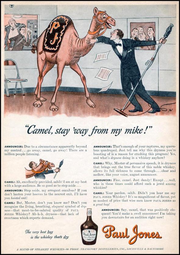 paul jones camel weird