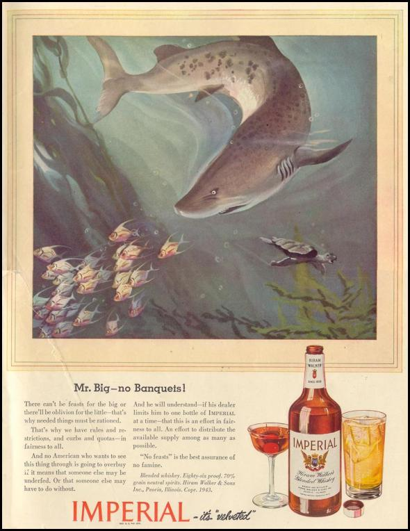 Imperial Whiskey no feasts shark